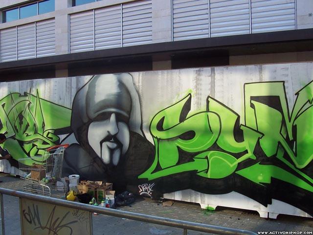 Graffitis -Distintos estilos