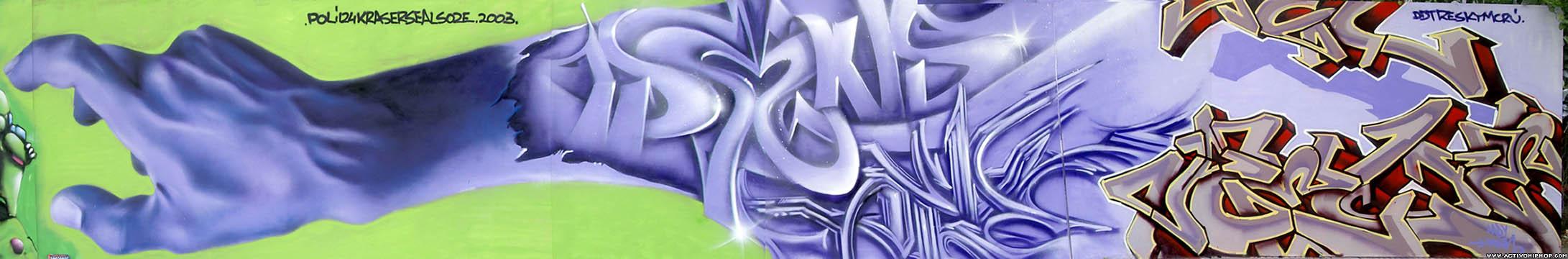 Activo Hip Hop - GRAFFITI: Graffiti de Cartagena parte 2: Poli124 ...
