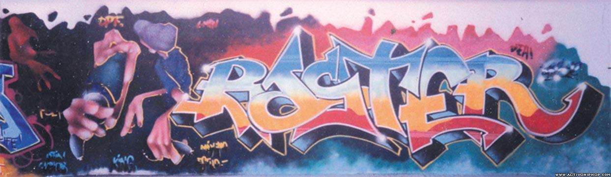 Activo Hip Hop - GRAFFITI: Graffiti de Cartagena - Página 1