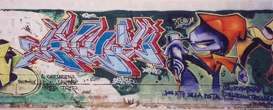 Activo Hip Hop - GRAFFITI: Graffiti de Cartagena - Página 4