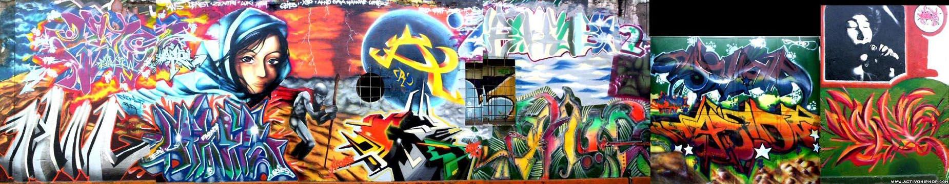 Activo Hip Hop - GRAFFITI: Denst - Página 1