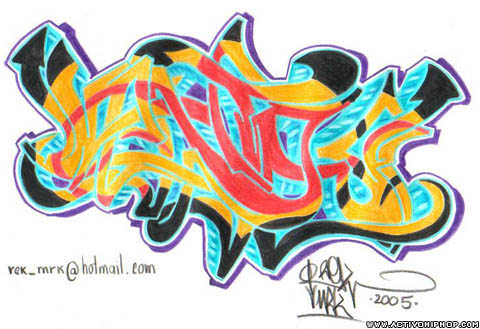 Activo Hip Hop - GRAFFITI: Rek